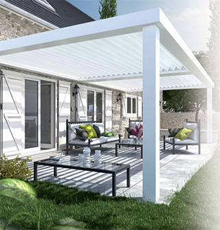 Cr Ation De Pergola Aluminium En Is Re 38 Et Savoie 73